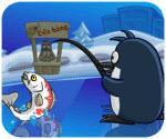 Cánh cụt đi câu